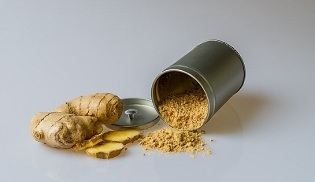 ginger ointment for the treatment of cervical osteochondrosis
