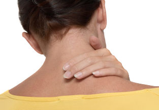 how to get rid of sharp neck pain